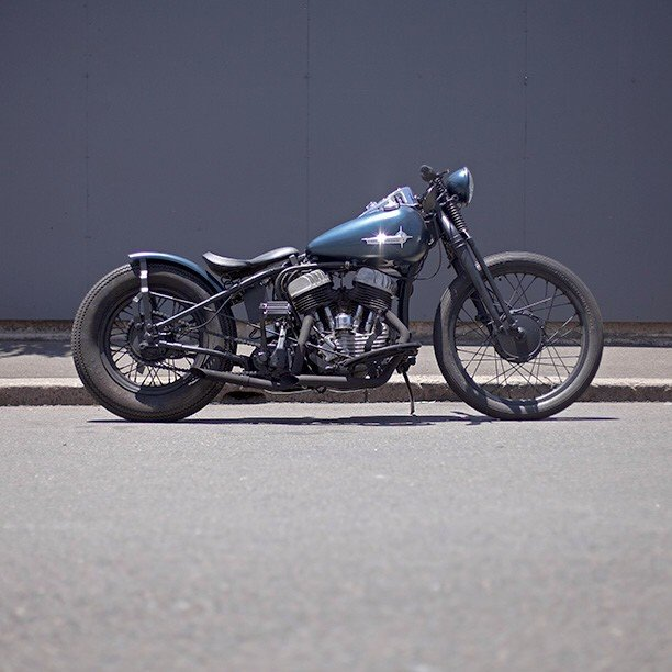1942 Harley-Davidson WLA Flathead Bobber
