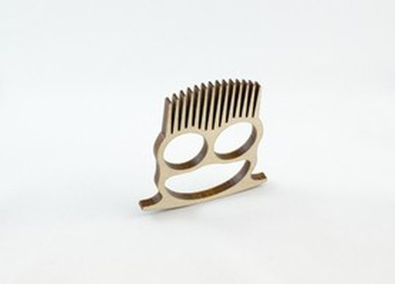 Beard Comb Knuckle Duster