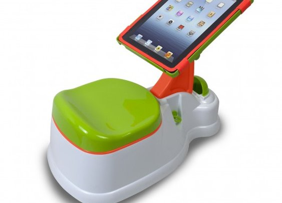 iPotty: Toilet training ... now with added iPad