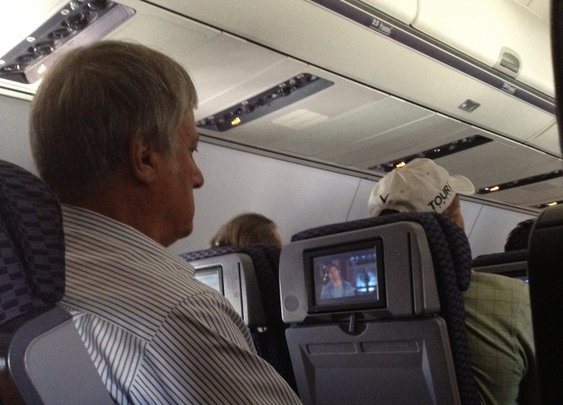 Deep Travel Thoughts: Arnie vs. the Armrest