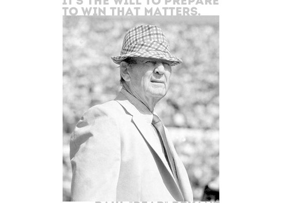 Sports Quotes / #paulbryant #sports  #quotes  #sportsquotes