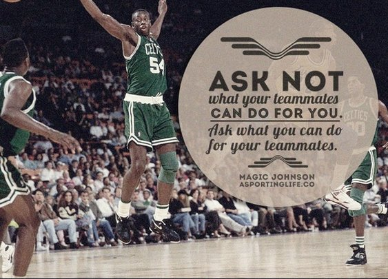 Sports Quotes / www.asportinglife.co #magicjohnson #basketball #sportsquotes