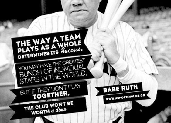 Sports Quotes / #sports #quote #baberuth #sportsquotes