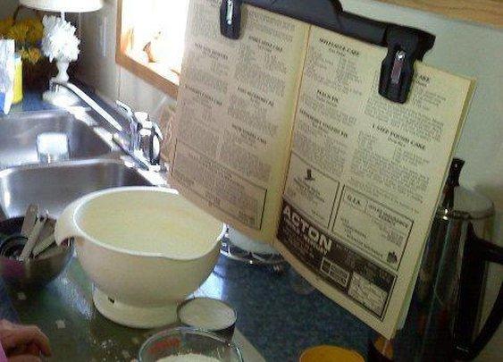 Redneck Magazine Holder for the Kitchen