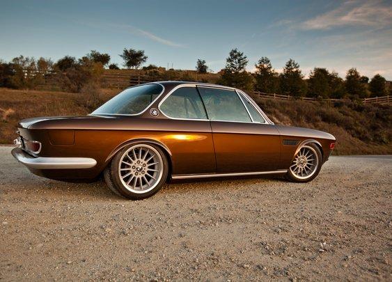 1971 BMW 2800CS Custom By Cole Foster