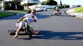Trike Drifting - YouTube