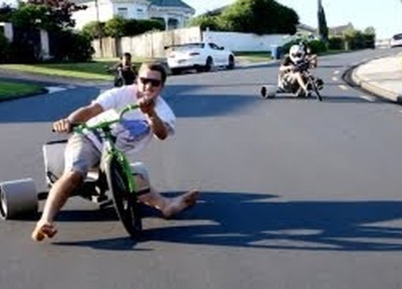 Trike Drifting - YouTube