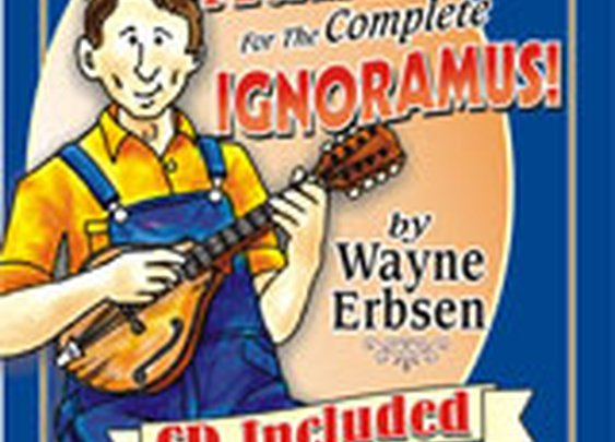 Bluegrass Mandolin for the Complete Ignoramus! (Book & CD Set)