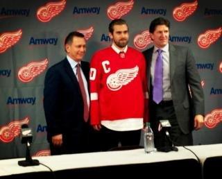 Henrik Zetterberg Named Detroit Red Wings' Captain ~ The Good Guys Corner