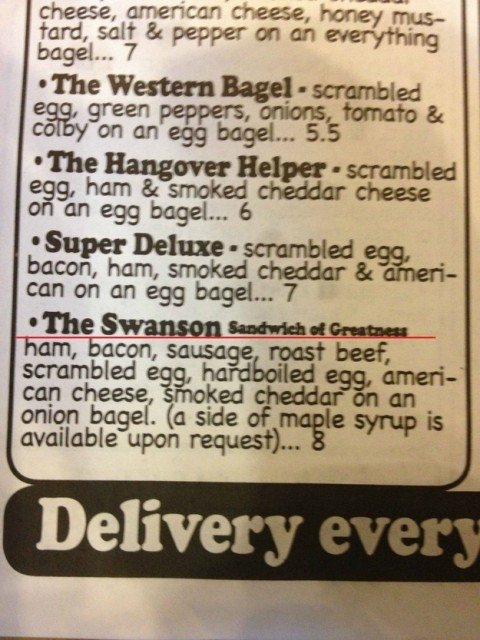 » The Ron Swanson Sandwich At Chicago Bagel Authority Is So America I Can't Stand It Barstool Sports – Chicago