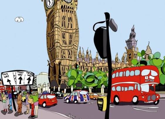 Olympic art and official Olympic artist for London 2012