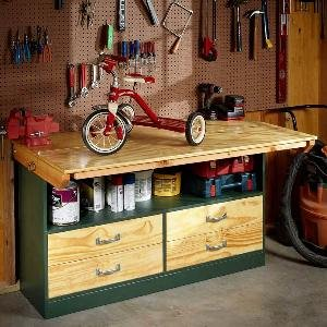 Garage Workbench | The Family Handyman