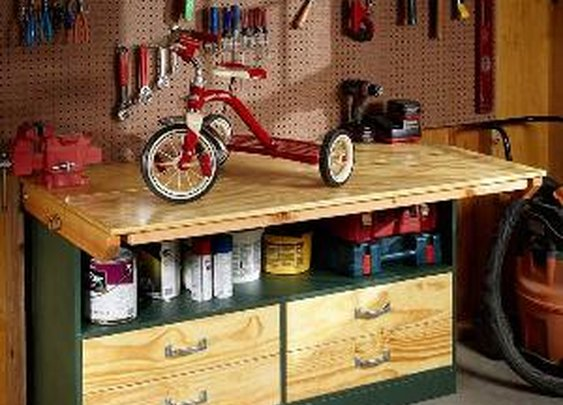 Garage Workbench | The Family Handyman