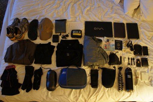 Gear List - 12 Month Round the World Trip
