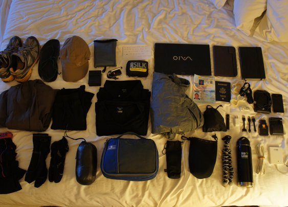 Gear List - 12 Month Round the World Trip
