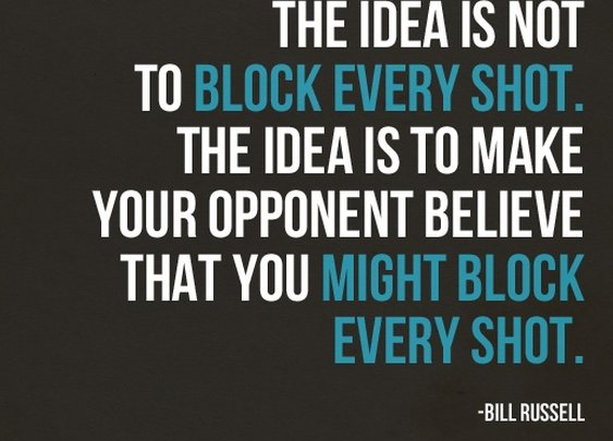 Sports Quotes / www.asportinglife.co #billrussell #sportsquotes