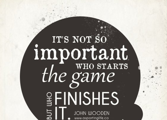 Sports Quotes / www.asportinglife.co #sportsquotes #johnwooden