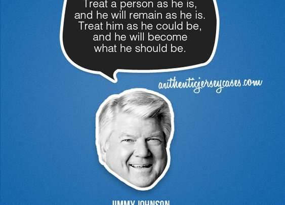 Sports Quotes / www.asportinglife.co #sportsquotes #jimmyjohnson