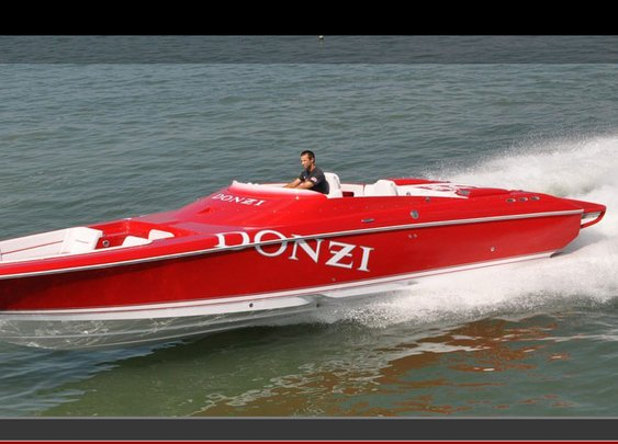DONZI - 35 ZR Open