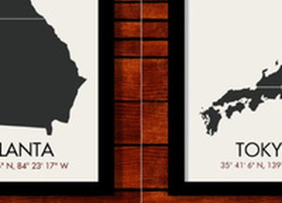 Forget Your Throwback Jersey—Show City Pride With Latitude Longitude Posters
