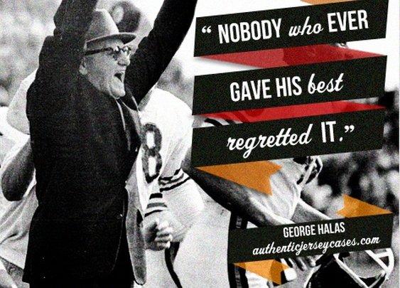 Sports Quotes / www.asportinglife.co #sportsquotes #georgehalas