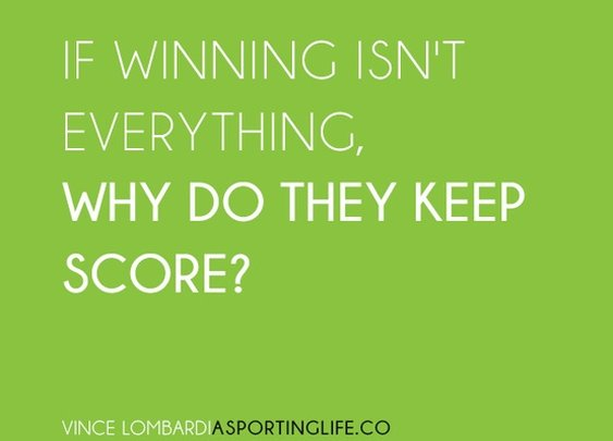 Sports Quotes / www.asportinglife.co #sportsquotes #vincelombardi