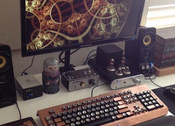 The Steampunk Workspace