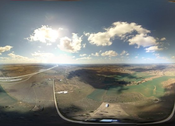 """""""I sent a balloon up to capture 360x180 degree imagery/video from ~100k ft."""""""