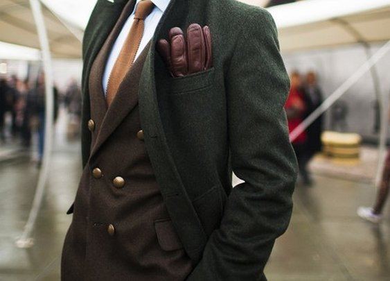 Brown and Green Combo