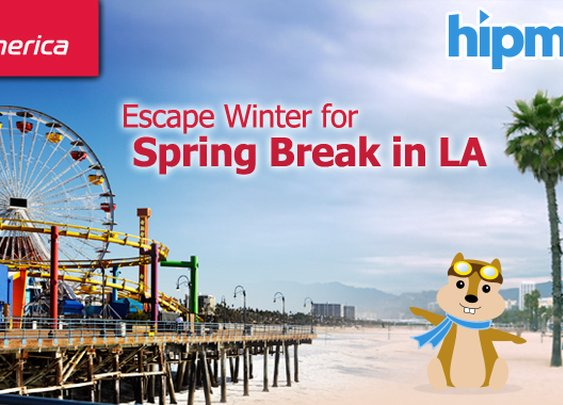 Hipmunk and Virgin America host a great travel contest! 2 free tix to LA and a hotel stay!