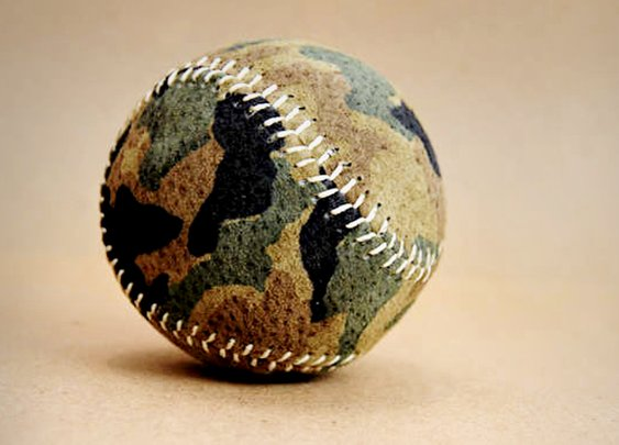 Camo Baseball   Making Catch Cool Again