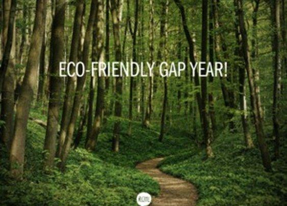 Eco-friendly gap year