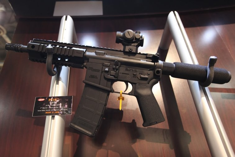 Pictures from the 2012 SHOT Show