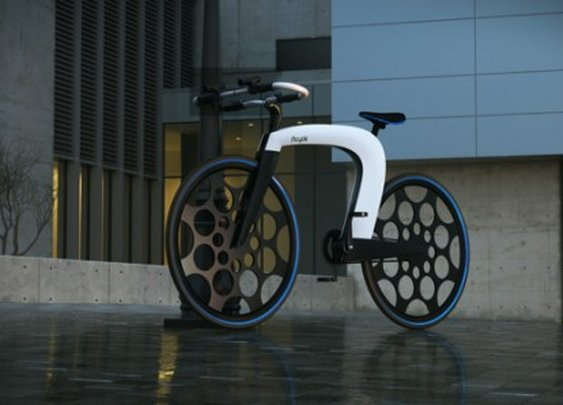 nCycle concept bike is smart, foldable, secure