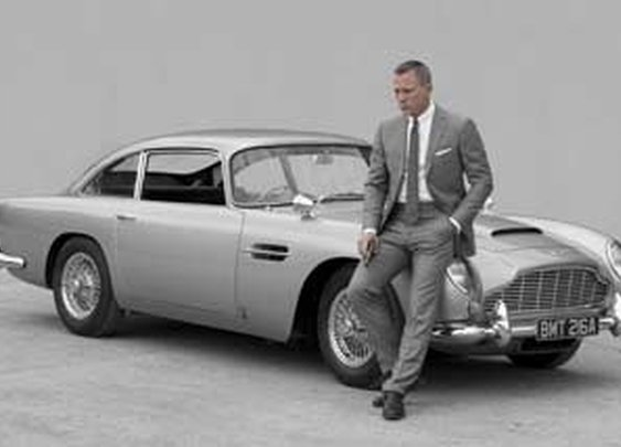 1965 aston db5  -  quite possible the best looking car ever