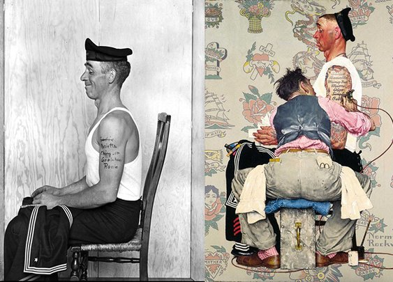Norman Rockwell's Photographic Inspiration