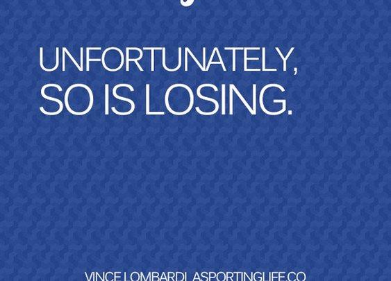 Sports Quotes / www.asportinglife.co #vincelombardi #sportsquotes