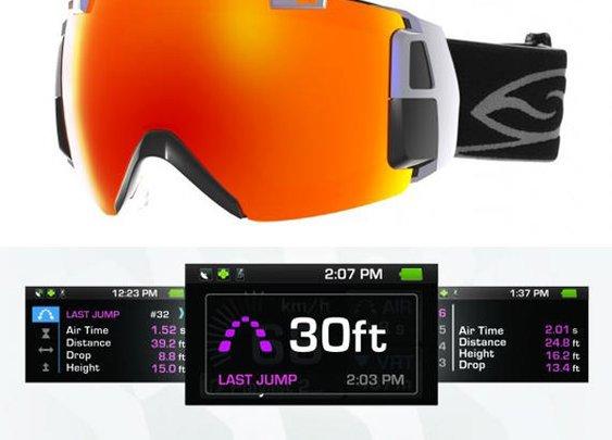 The Recon Instruments and Smith Optics I/O Goggle