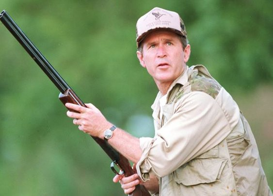 Pres. GW Bush Bird Hunting