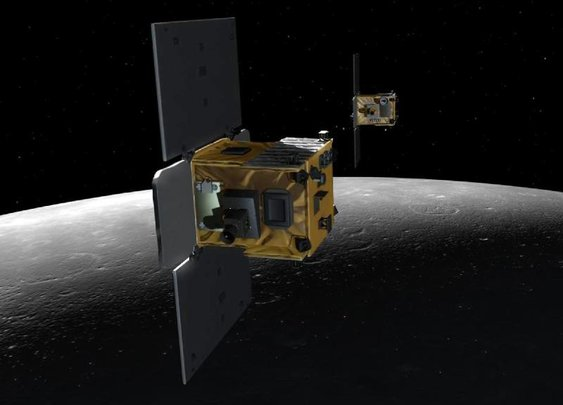 6.8 miles above Moon with NASA's GRAIL Probes