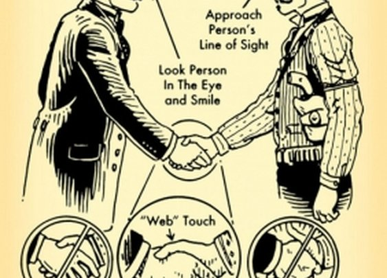 Manly Handshake 101