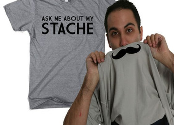 Ask Me About My Stache