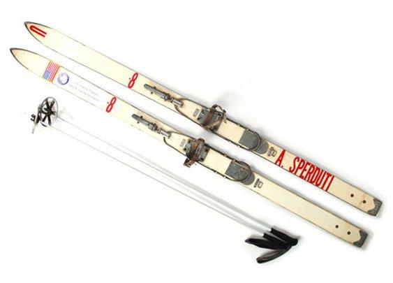 Partners & Spade Custom Vintage Skis