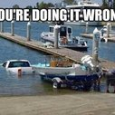 Rule #1 About Launching A Boat ~ The Good Guys Corner