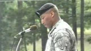 LTC Randolph C. White Jr. Delivers Infantry Graduation Speec - YouTube