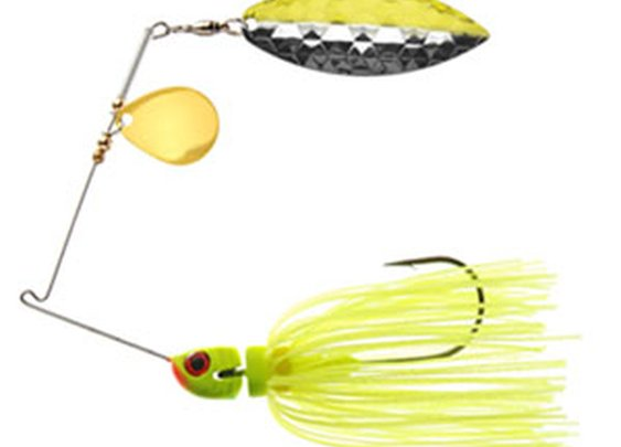 Chartreuse StrikeBack SpinnerBait - MegaStrike Inc