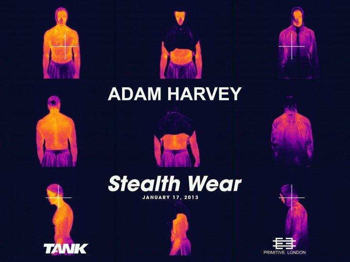 Stealth Wear   Adam Harvey - ANTI DRONE CLOTHING