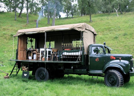 Truck Converted to Tiny House