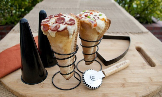 Behold the pizza cone
