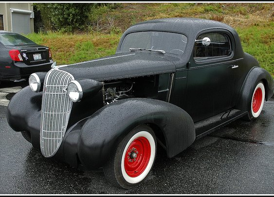 1936 Oldsmobile 3 Window Coupe -